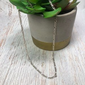 Vintage Sterling Silver India Chain